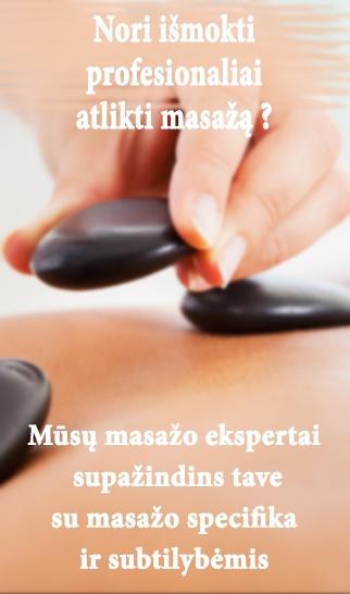 Masažo kursai