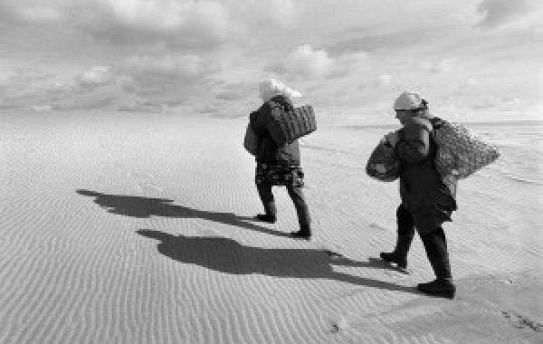 """VYTAUTO DARAŠKEVIČIAUS FOTOGRAFIJOS PARODA """"TARP VANDENŲ IR SMĖLYNŲ"""""""