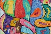 """JONO BUTKEVIČIAUS tapybos parodą """"SPALVINĖS IMPRESIJOS"""""""
